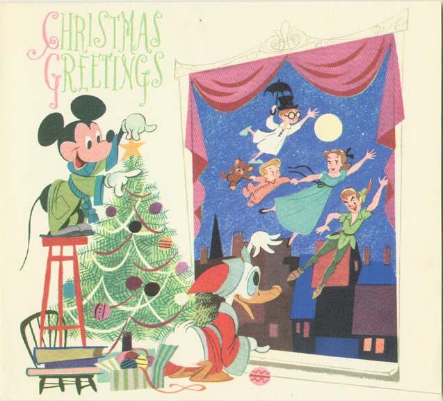 Vintage Disney Christmas Cards | Lattaland