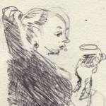 erin-drinking