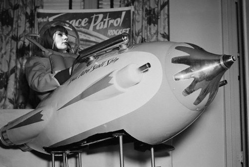 Toy Space Ship at American Toy Fair