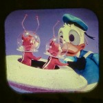 DONALD DUCK IN FLYING SAUCER PILOTS VIEW MASTER SCANS 6